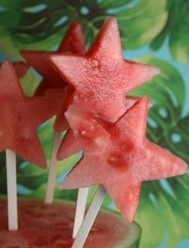 Frozen Watermelon Pops