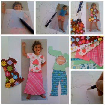 Personalised Paper Dolls