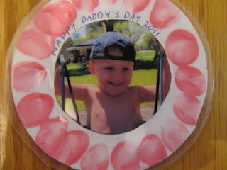Father's Day Keepsake Photo Magnet