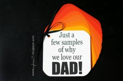 Samples of Why We Love Dad