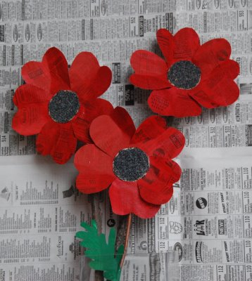 Paper Poppies Fun Family Crafts