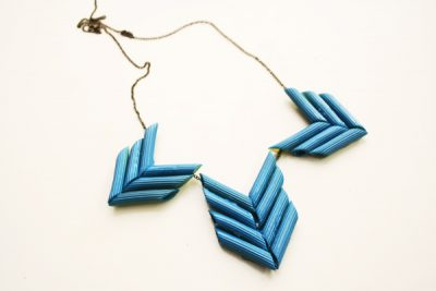 Penne Statement Necklace