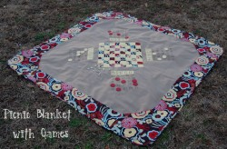 Picnic Blanket with Games