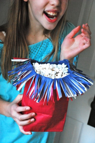 Firecracker Popcorn Bag