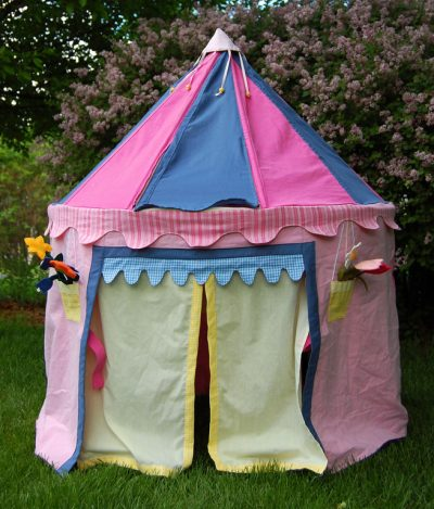 instructions for kids play tent