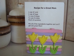 Recipe Card Holder for Mom