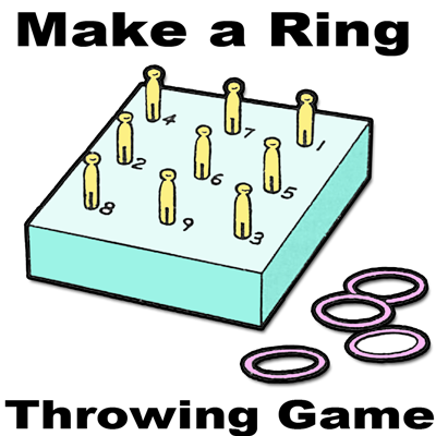 Ring Toss Throwing Game