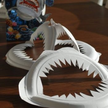 Paper Plate Shark Jaws & fish Archives | Fun Family Crafts