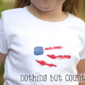 Patriotic Handprint T-Shirt