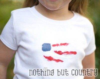 Patriotic Handprint T-Shirt