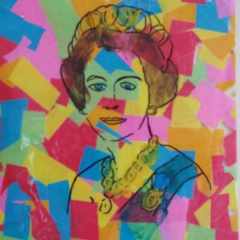 Queen Pop Art after Warhol, Jubilee Craft