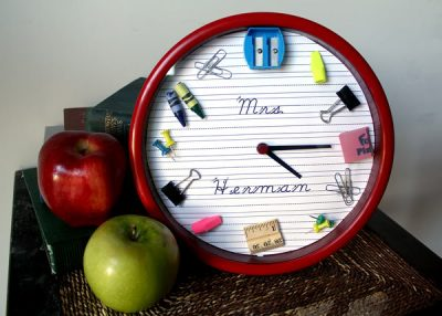 Teacher's Gift Clock