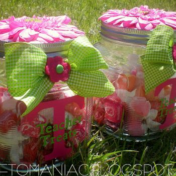 Teacher Treat Jars