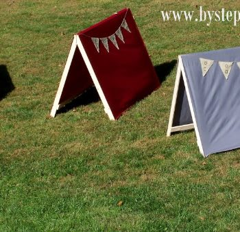 Kid-Sized Pup Tents
