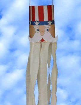 Uncle Sam Windsock