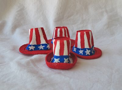 Miniature Uncle Sam's Hats