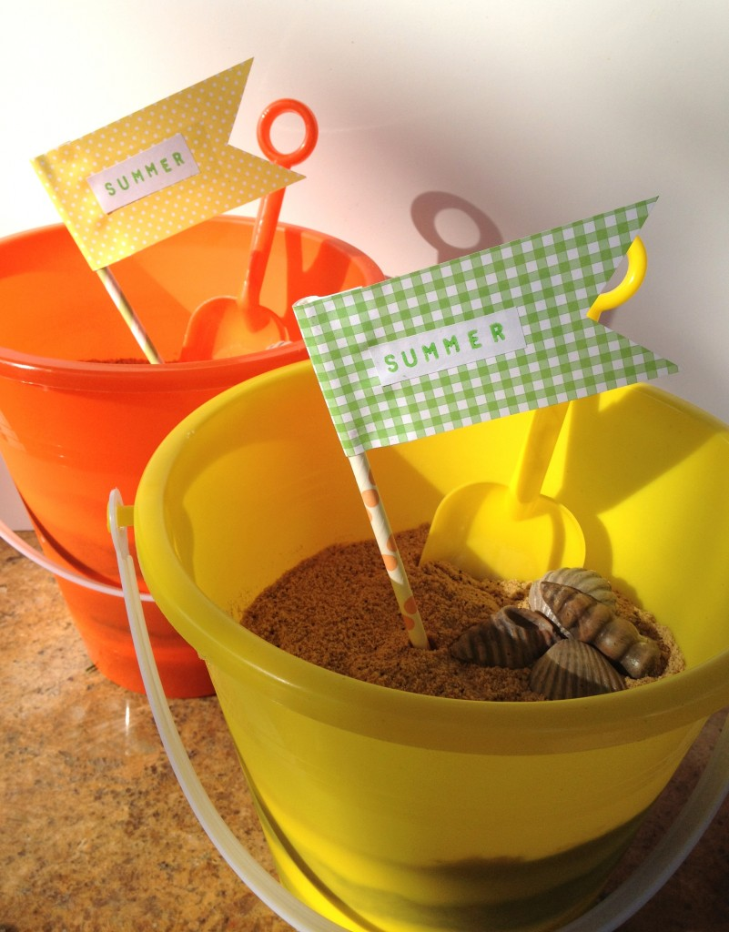 Easy Beach Bucket Cake