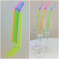 Two-Tone Drinking Straws