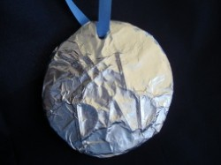#1 Dad Olympic Medal