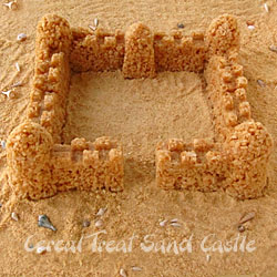 Cereal Sand Castle