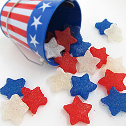 Homemade Patriotic Gumdrops