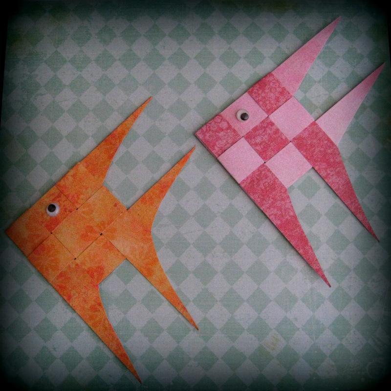 Paper Scrap Fish