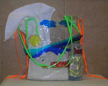 Nylon Beach Bag