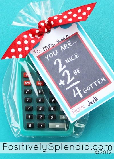 Teacher Appreciation Calculator