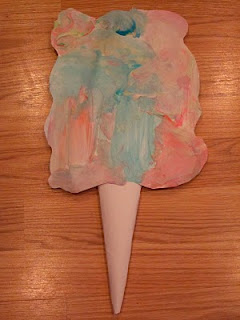 Faux Cotton Candy | Fun Family Crafts