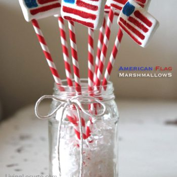 American Flag Marshmallows