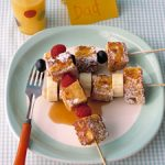 French Toast Kebobs for Father's Day