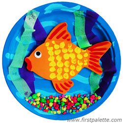 3D Goldfish Bowl