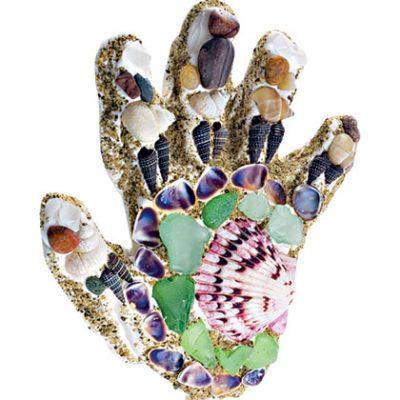 Sandy Hand Mosaic