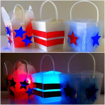 Noodle Box Lanterns