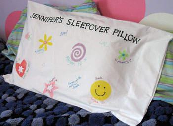 Sleepover Pillowcase Craft Ideas: Sleepover Pillowcase   Fun Family Crafts,