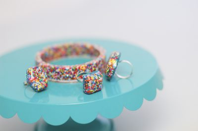 Sprinkle Resin Rings