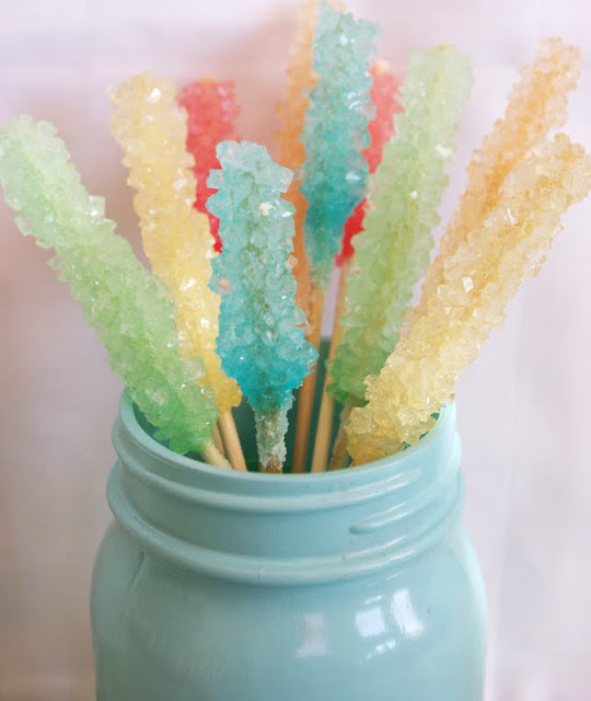 Pastel Rock Candy
