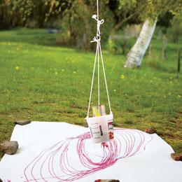 Spiral Art Pendulum Pen