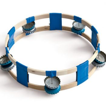Bottle Cap Tambourine