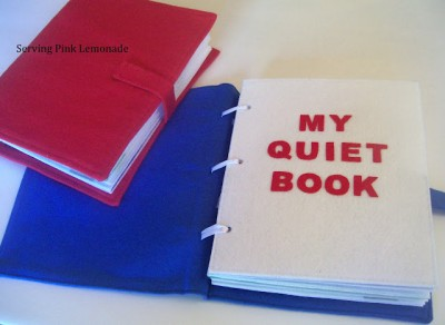 Fabric Quiet Book
