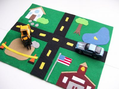Mini Car Mat