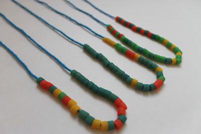 Pasta Beads