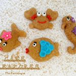 Mini Sand Cake Sea Creatures