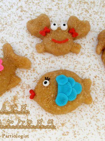 Mini Sand Cake Sea Creatures