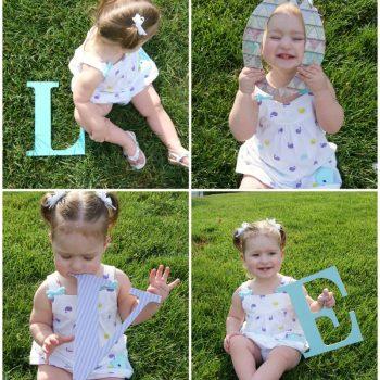 Letter Photo Props