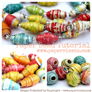 Paper Bead Tutorial