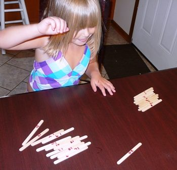 Counting Sticks Game