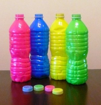 Color Matching Bottles