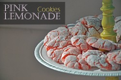 Pink Lemonade Cookies