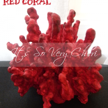 Faux Red Coral